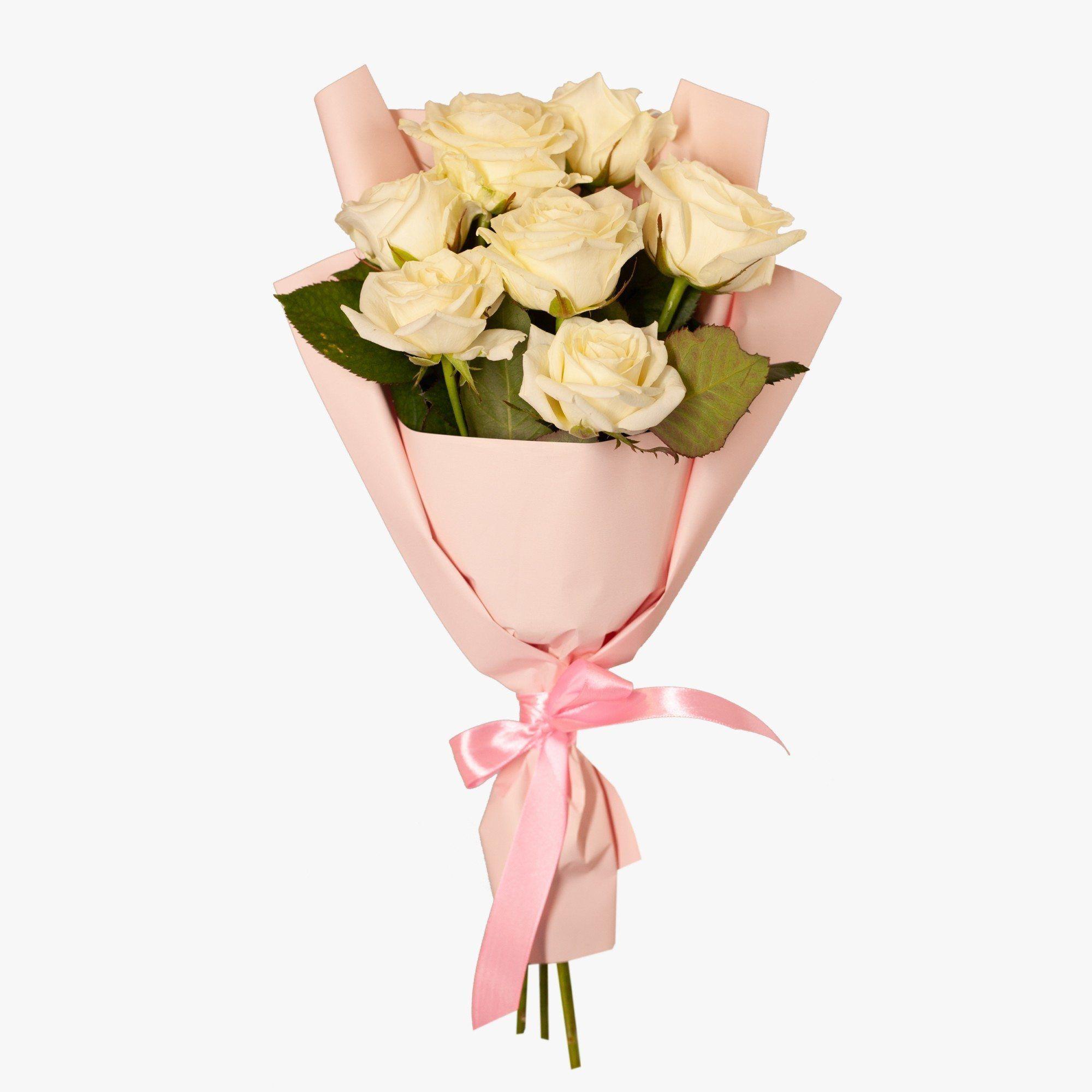 Белых роз, заказ цветов краснослободск